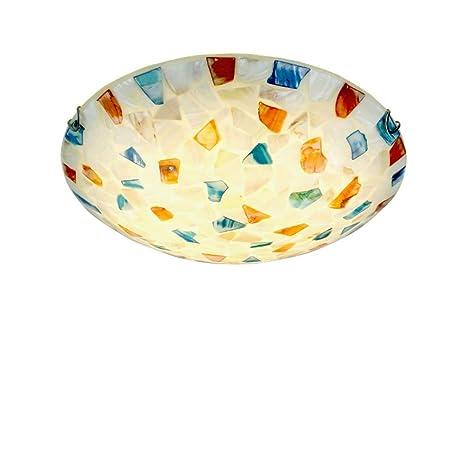 Amazon.com: Lámpara de techo LED creativa con pantalla de ...