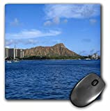 3dRose LLC 8 x 8 x 0.25 Inches Mouse Pad, Diamondhead Oahu (mp_8118_1)