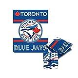 MLB Toronto Blue Jays High End Super Cozy Blanket / Throw