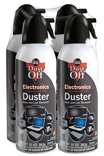 Price comparison product image Dust-Off DPSXL4 Disposable Duster, 10 oz. - Pack of 4