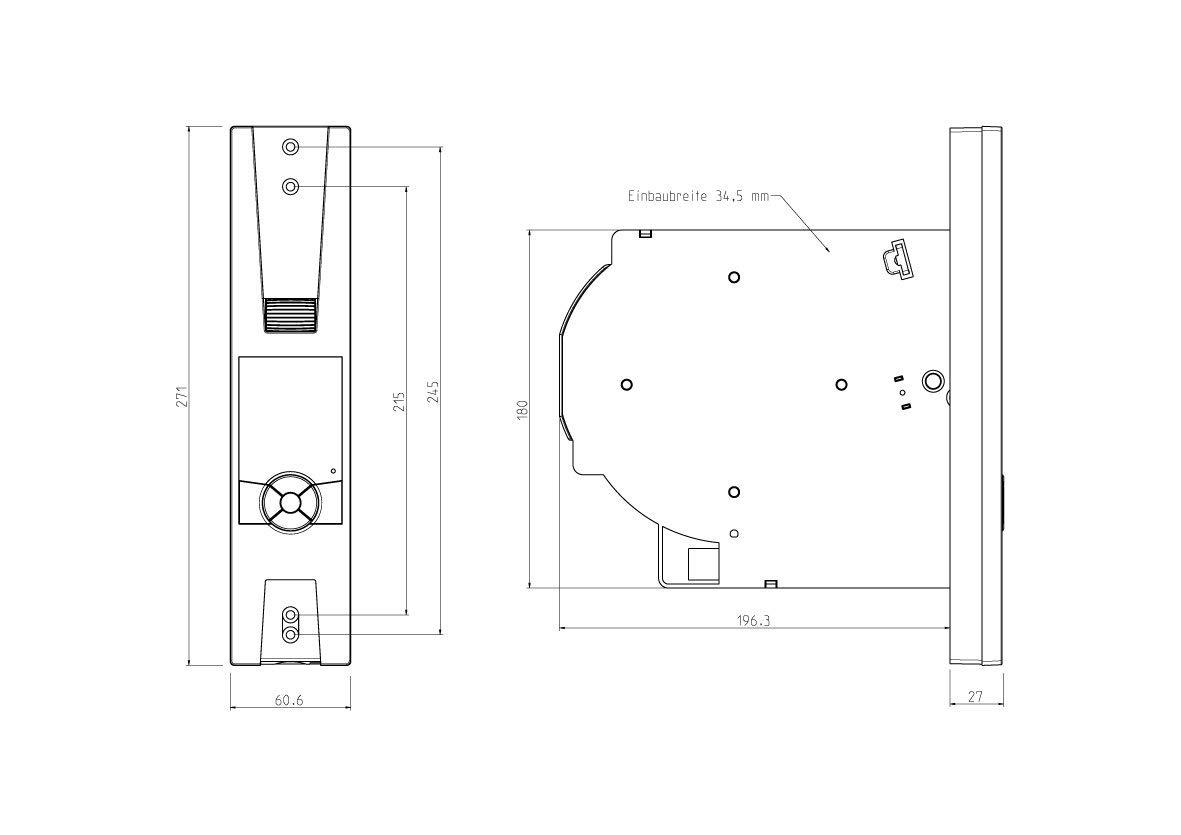 Elektronischer Komfort Gurtwickler f/ür Rolll/äden Rademacher RolloTron Comfort Plus 1705-UW