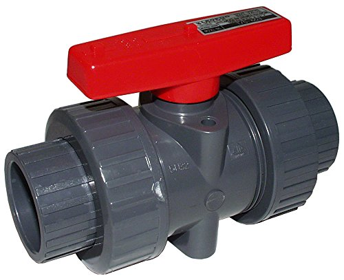 (Legend- PVC True Union Ball Valve (Socket By Socket) (2 Inch))