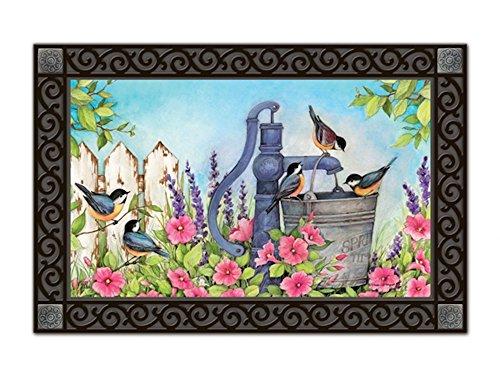 "UPC 843259102183, Birds of Spring MatMates Doormat - 18"" x 30 - Tray Sold Separately"