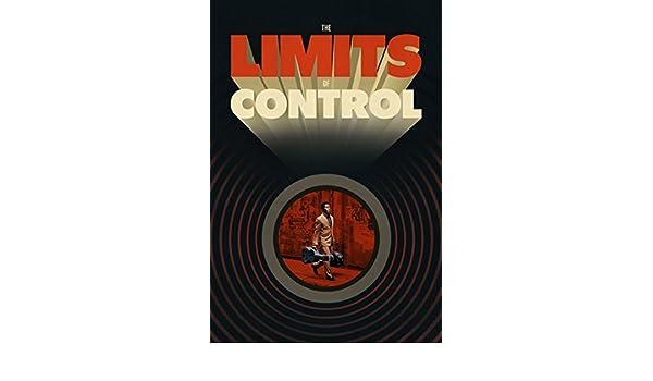 Cartel de la película los límites de Control 70 x 44 cm ...
