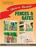 Fences and Gates, Jim Barrett Mr., Editors of Creative Homeowner, 158011007X