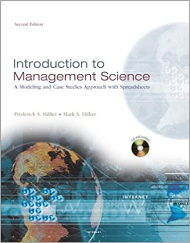 Introduction to management science a modeling and case studies introduction to management science a modeling and case studies approach with spreadsheets irwinmcgraw hill series in operations and decision sciences fandeluxe Image collections