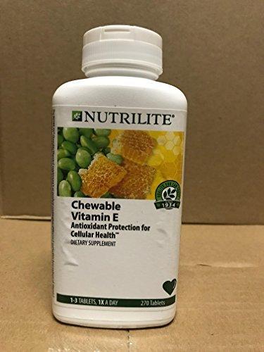 Nutrilite?de??d??? Lecithin-E Chewables 270 Tablets by Nutrilite