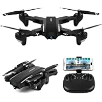 Sacow RC Quadcopter, Mini Q39W Foldable With Wifi FPV 720P HD Camera 2.4G 6-Axis RC Quadcopter Drone Toys