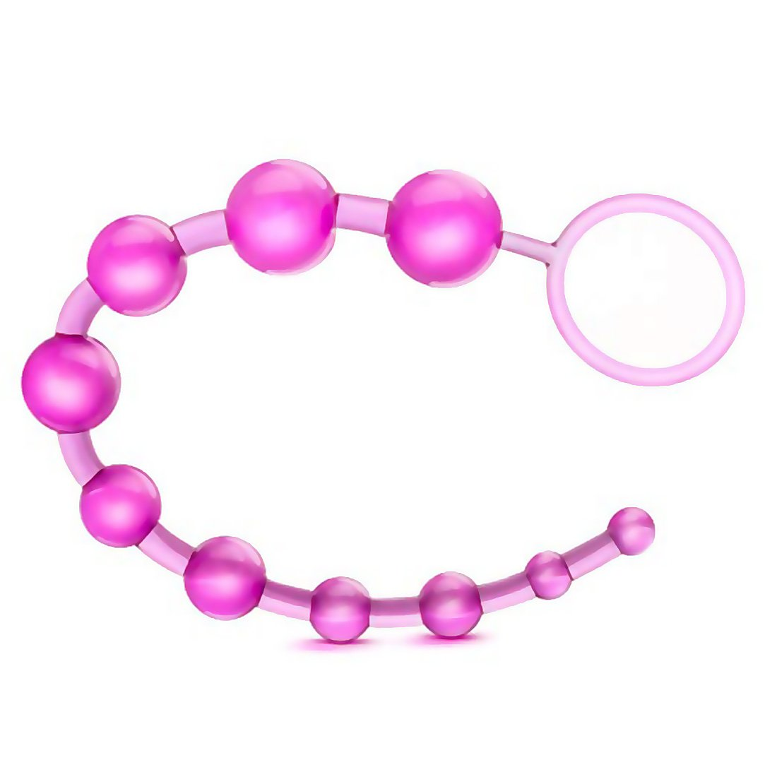 Cock ring with anal beads