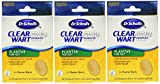 Dr. Scholl's Clear Away Wart Remover Medicated Disks Plantar for Feet, 24 Count (Pack of 3)