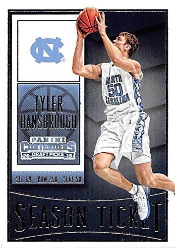 Tyler Hansbrough North Carolina Basketball - Tyler Hansbrough basketball card (North Carolina Tar Heels NCAA Final Four) 2015 Contenders Draft Picks #94