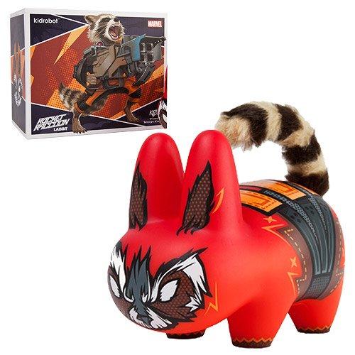 Kidrobot Marvel Rocket Raccoon Labbit Vinyl Art