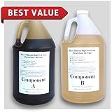 Liquid Urethane Rigid Pour Foam 2 Lb Density - 1/2 Gallon Kits - 1 Gallon Total