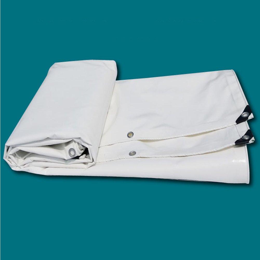 KKCF オーニング オーニング サンシェード オーニングシェード タープ  オーニング 日よけ PVC 天幕ナイフ布 レインカバー キャノピーシェルター 防水 日焼け止め 耐摩耗性、 650g/m²、 厚さ0.55mm、5色 (色 : 白, サイズ さいず : 3x8m) B07FXLP56M 3x8m|白 白 3x8m