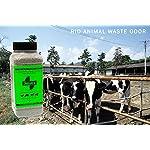 SMELLEZE Natural Animal Waste Odor Removal Deodorizer: 50 lb. Granules Rid Feces & Urine Stench 5