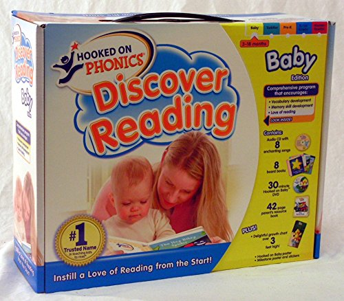 Hooked on Phonics: Discover Reading - Baby Edition by Hooked on Phonics (Image #2)