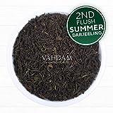 Premium Darjeeling Loose Leaf Black Tea- 2019 Second Flush Loose Leaf Tea- Certified Pure, Exceptional Quality Darjeeling Tea for Garden Fresh Black Tea and Kombucha - Make 50 Cups (3.53 Ounce)