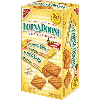Nabisco Lorna Doone Shortbread Cookies - 30 ct. (pack of 6) by Nabisco