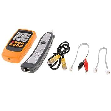 MagiDeal Detector Receptor Emisor Cable Buscador Red Trazador de Hilos Rj11 De Gm60 Rj11: Amazon.es: Electrónica