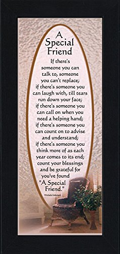 A Special Friend, Friend Picture Frame, Friendship Gifts, 6x12 7748bc Picture