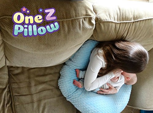 The 4 in 1 One Z CREAM Nursing Pillow w/ AMAZING BACK SUPPORT- CREAM COLOR COVER by Twin Z PIllow (Image #2)
