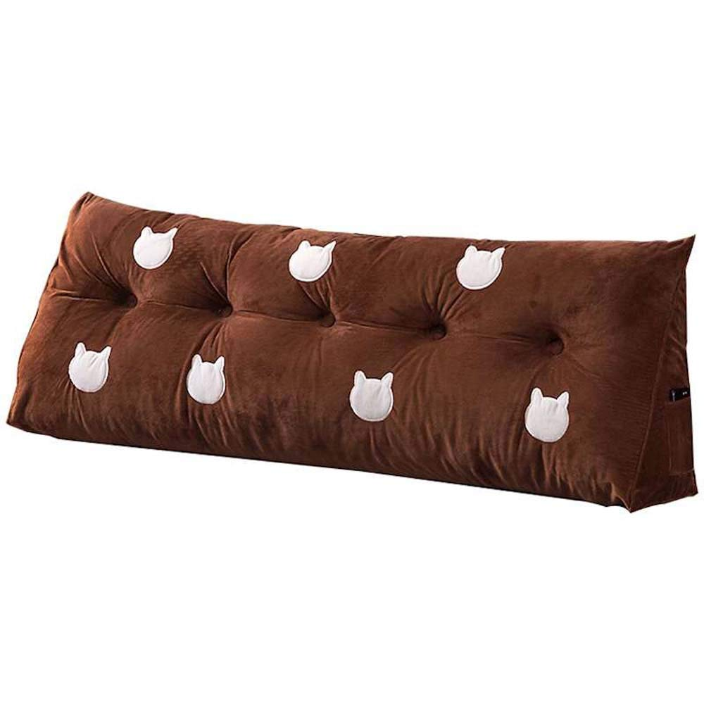 Surprising Amazon Com Qnjm Triangle Big Pillow Bedside Back Cushion Forskolin Free Trial Chair Design Images Forskolin Free Trialorg