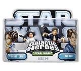 : Star Wars Galatic Heroes Princess Leia And Han Solo