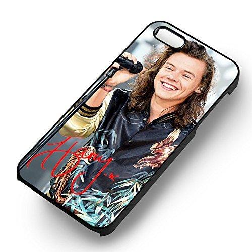 Boy Smiling B pour Coque Iphone 6 et Coque Iphone 6s Case (Noir Boîtier en plastique dur) N6J9ZT