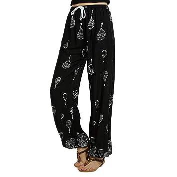 Pantalones de Yoga Fitness Mujeres SUNNSEAN Pantalon Media ...