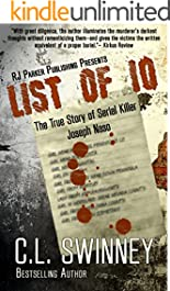 LIST OF 10: The True Story of Serial Killer Joseph Naso (Detectives True Crime Cases Book 7)