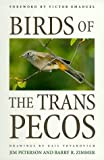 Birds of the Trans-Pecos, Jim Peterson and Barry R. Zimmer, 0292765843