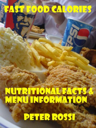 - Fast Food Calories Chart - SUBWAY,McDonalds,Starbucks,Pizza Hut,Burger King,Dunkin' Donuts,Wendy's,Taco Bell,Kentucky Fried Chicken (KFC),Domino's Pizza