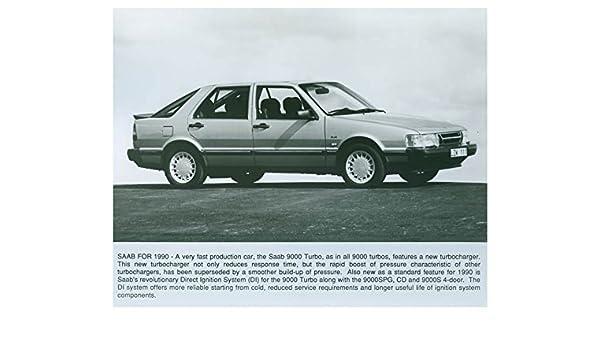 Amazon.com: 1990 Saab 9000 Turbo Automobile Factory Photo: Entertainment Collectibles