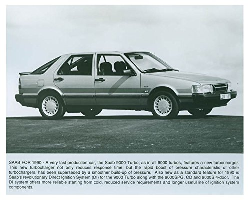 1990 Saab 9000 Turbo Automobile Factory Photo