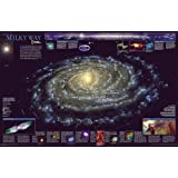 The Milky Way [Tubed] (National Geographic Reference Map)