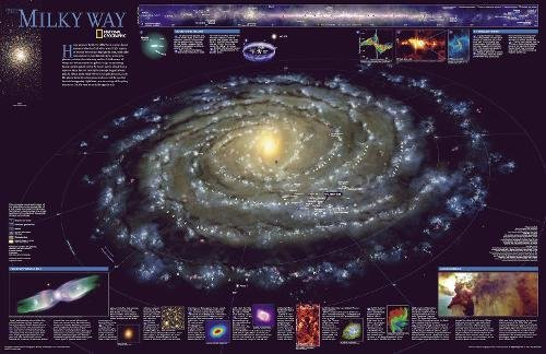 the-milky-way-tubed-national-geographic-reference-map
