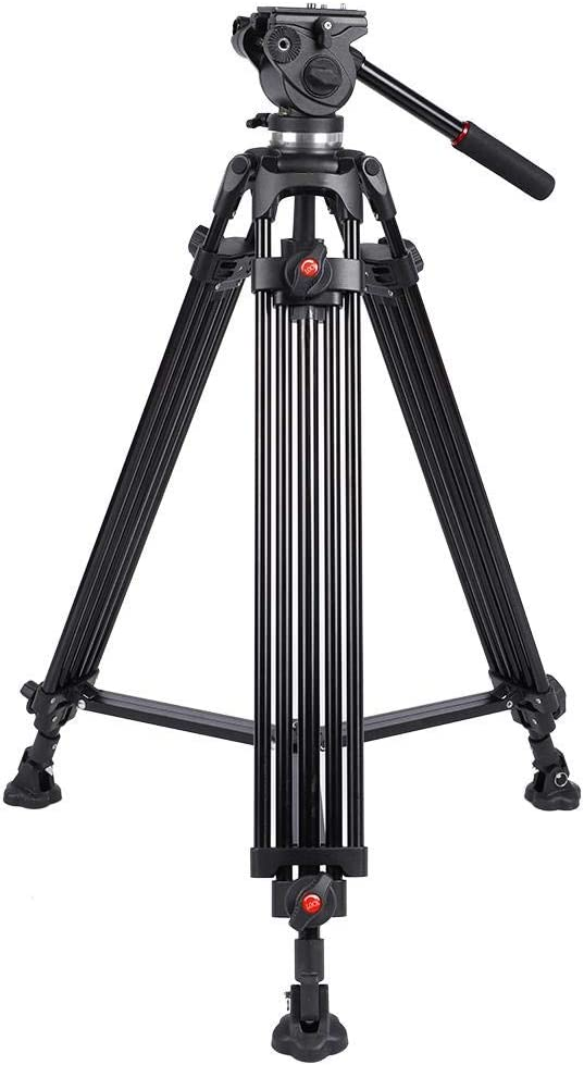 Photography DV Video Camera Tripod Stand Ajustable Support 360/° Panoramic with 1//4 inch and 3//8 inch Screw for Most Cameras SLR Micro Single Mugast Professional Camera Tripod Card Cameras