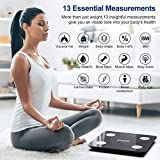 Smart BMI Scale, iDOO Bluetooth Body Fat Scale