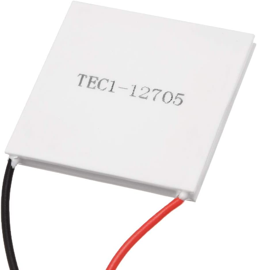 Lheng Semiconductor Refrigeration Tablets TEC1-12705 12V 5A Heatsink Thermoelectric Cooler Cooling Peltier Plate Module 40x40MM