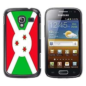 - Flag - - Monedero pared Design Premium cuero del tir¨®n magn¨¦tico delgado del caso de la cubierta pata de ca FOR Samsung GALAXY Ace 2 I8160 Funny House