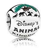 Disney Pandora Park Exclusive Animal Kingdom Bead Charm