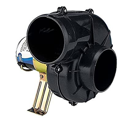 Image of Blowers Jabsco 35770 Series Flexmount Blower, Continuous Duty, 4 inch, DC 250 CFM