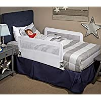 Regalo HideAway Double Sided Bed Rail Guard, with Reinforced Anchor Safety System