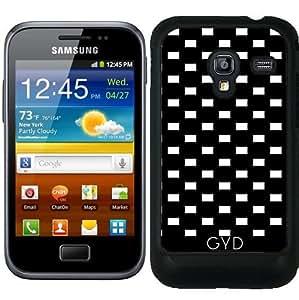 Funda para Samsung Galaxy Ace Plus S7500 - Gráfico Blanco Y Negro by Yasmina Baggili