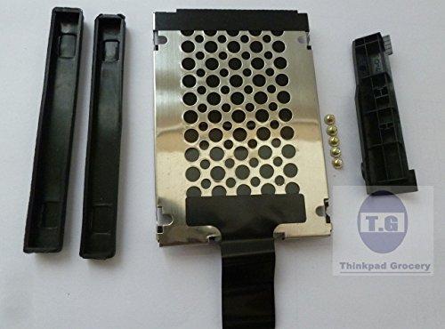 New Hard Drive Cover +Caddy+Rails+Screws for IBM/Lenovo Thinkpad T410 T410i 14