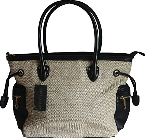 Ladies Designer Tote  Shoulder Shopping Bag by Charm & Shape - Italy