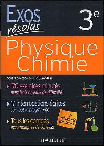 En ligne téléchargement gratuit Physique Chimie : 3e pdf epub