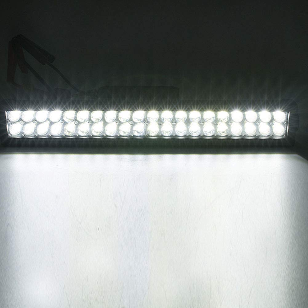 Foco LED para coche Luz de tira Potencia de 180W Luz de parachoques delantero de coche modificado Luz de techo Accesorios de coche