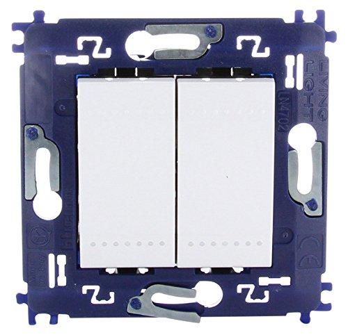 bticino 790040033 –  Interruptor conmutador doble. Eltra N.V