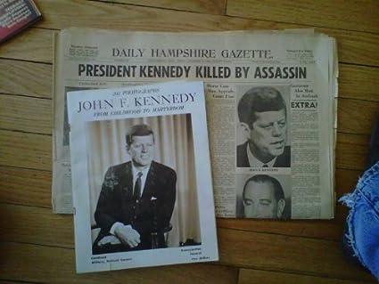 Amazon com: PHOTOBOOK OF JOHN F KENNEDY FROM CHILDHOOD TO